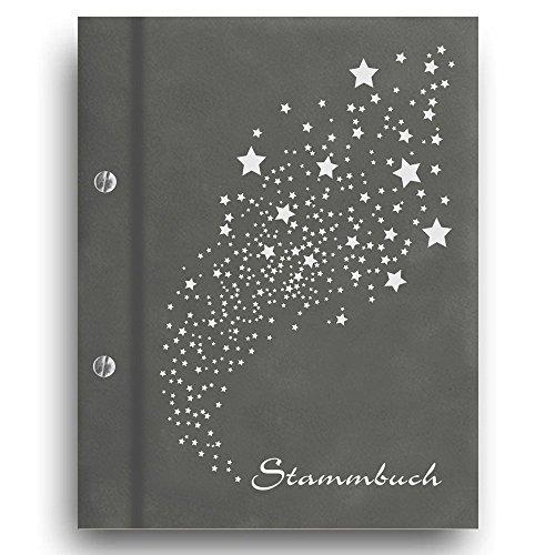 Stammbuch der Familie 'Light' A4 grau Familienbuch Familienstammbuch Stammbaum Stammbücher Hochzeit