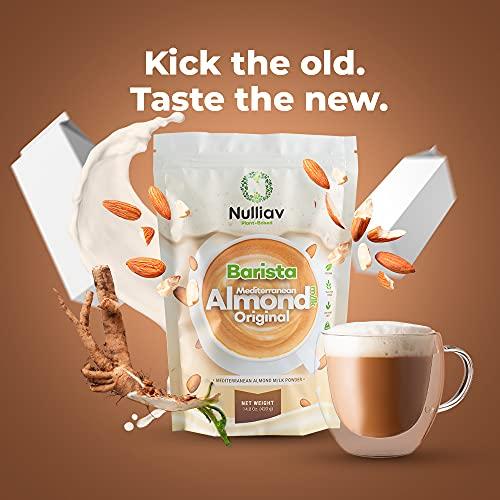 NULLIAV | Barista Mediterranean Almond Milk Powder Original