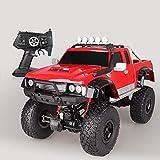Kikioo El coche teledirigido, 4WD 1: 8 Escala doble de alta velocidad del motor RTR RC todo terreno desierto monstruo de camiones todo terreno de 2,4 GHz aleación eléctrico carrera rápida Buggy Racing