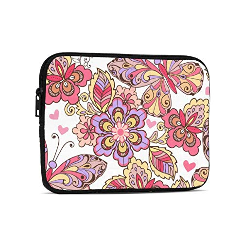 Colorful Art 9.7' Tablets Sleeve Bags Polyester Protection Cover for Ipad Air 2 / Ipad Mini 7.9' Case Pouch