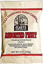 product image for Claey's Assorted Fruit Old Fashioned Hard Candies 6 oz. (Pack of 2)