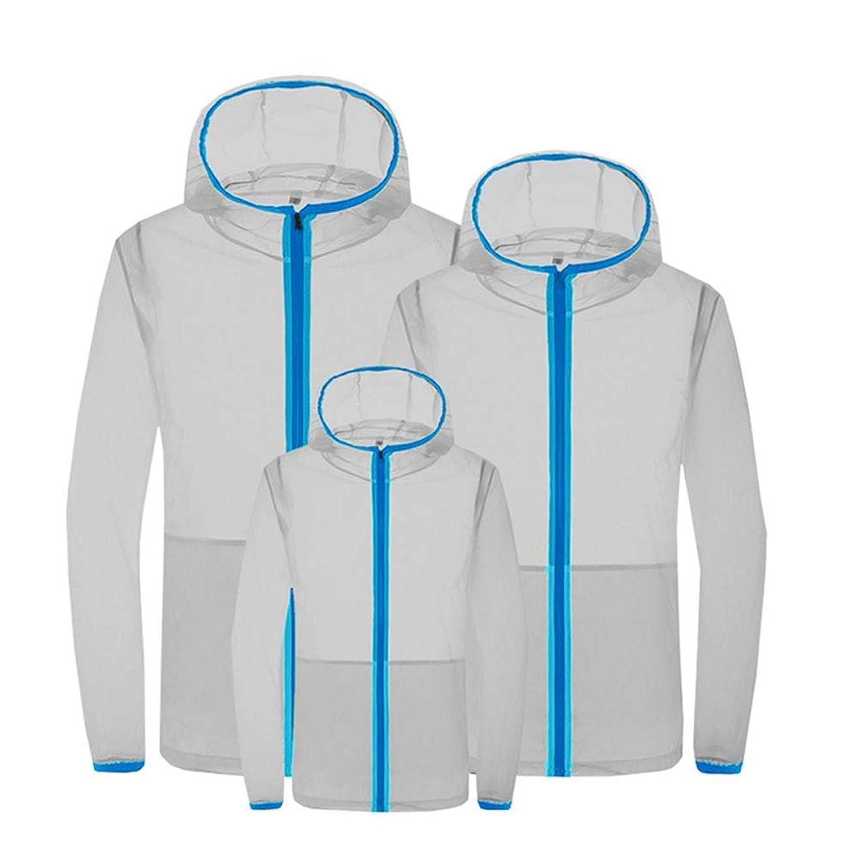 関係するスーパーマーケットに付ける夏のエアコンスーツスマート3速冷却スーツ日焼け防止服防滴防蚊服ファン冷却肌の服,Gray,S