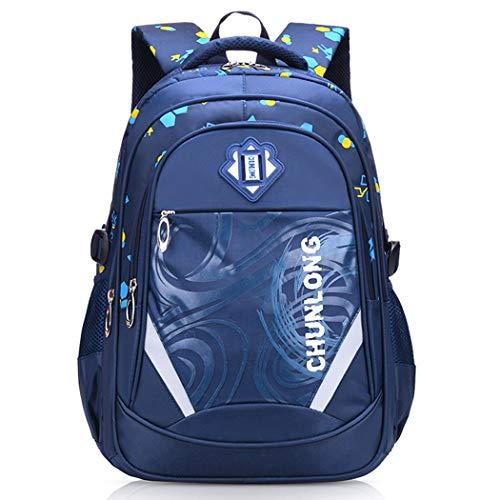 Bageek Kids Backpack Splash-Proof Large Capacity Student Backpack School Backpack