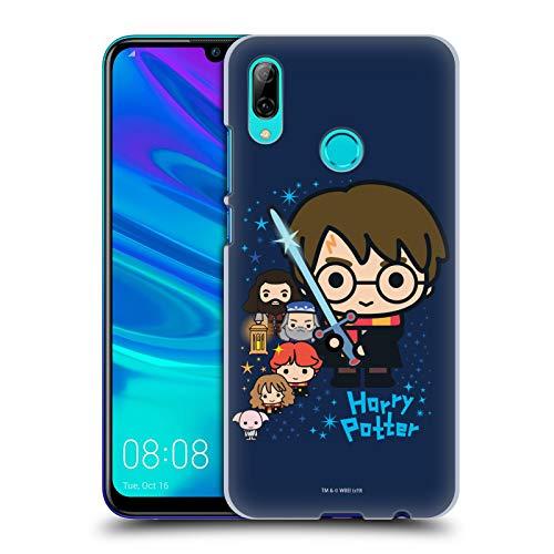 Head Case Designs Oficial Harry Potter Personajes Deathly Hallows I Carcasa rígida Compatible con Huawei P Smart (2019)