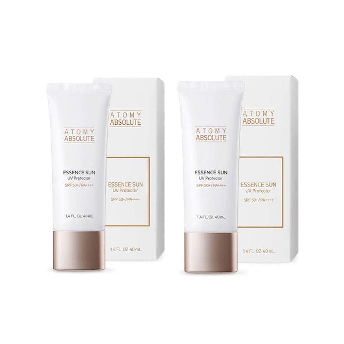 確認する洪水カセットアトミアブソリュートエッセンスサンUVプロテクター40mlx2本セットサンクリーム韓国コスメ、Atomy Absolute Essence Sun UV Protector 40ml x 2ea Set Sun Cream Korean Cosmetics [並行輸入品]