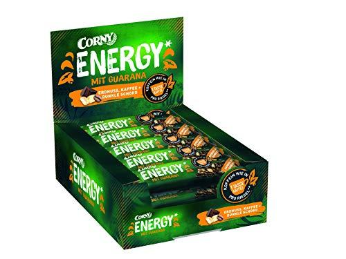 Corny Energy Erdnuss Kaffee + Dunkle, Koffein aus Guarana, 600 g