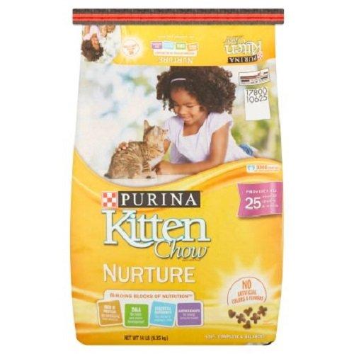 Purina Kitten Chow Nurture Cat Food (14 lb. - Pack of 3)