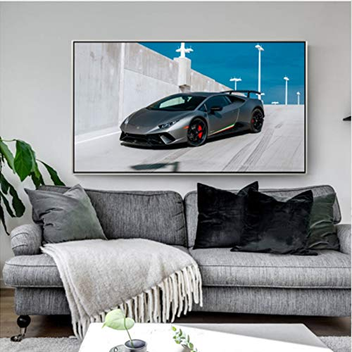 Canvas art print poster wall decoration painting famous car living room home decoration frameless painting 60X80cm