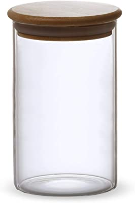 CtoC JAPAN Select 保存容器 ガラス Φ9.5x15cm キャニスター 耐熱 L CTCQD-233