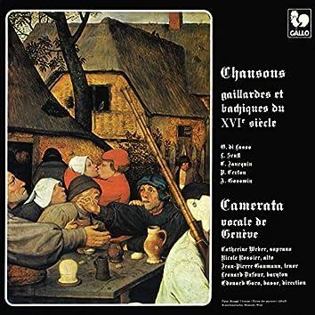 Roland de Lassus - Pierre Certon: Chansons gaillardes et bachiques du XVIe siècle