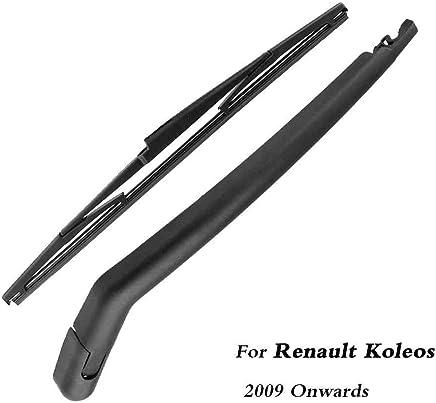 SLONGK Escobillas del Limpiaparabrisas Trasero del Automóvil Volver Brazo del Limpiaparabrisas, para Renault Koleos (