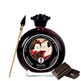 Shunga aphrodisiac edible Body paint - write love poems, draw hearts, flowers, and reveal your artistic side - Adult sex play fun pleasure products body painting - 100 ml (Chocolate)