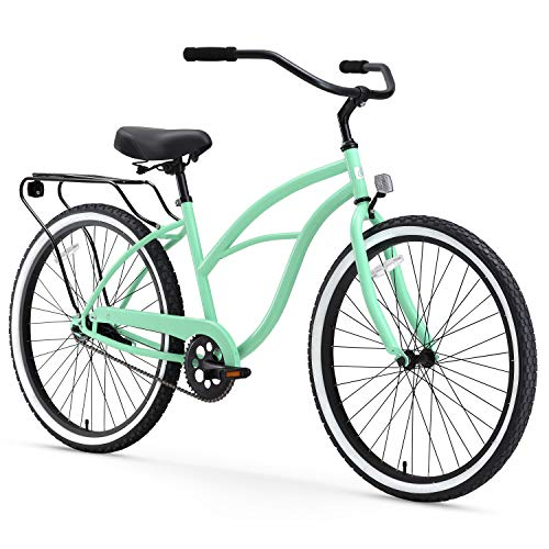 24-inch cruiser bike green