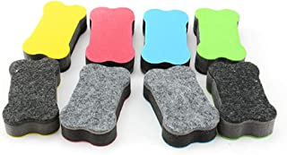 NUOLUX 黒板消し 磁気 イレーザー マグネット 黒板クリーナー ホワイトボード用イレーザー 24個セット 家庭/学校/事務室用