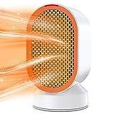 Termoventilatore ceramico, termoventilatore elettrico 600W con protezione da surriscaldamento e...