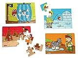 Detalles Infantiles - Puzzle madera niño
