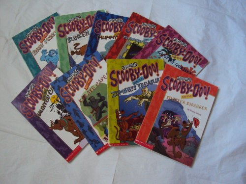 Scooby Doo Chapter Books (9): Scooby Doo & the Haunted Castle; Scooby Doo & Ghostly Gorilla; Scooby Doo and the Karate Caper (Children Book Sets: Grade 1-3)
