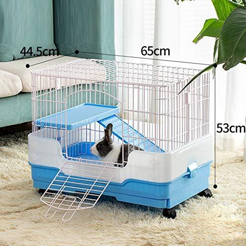 Haustier ist zu Hause Pet Shop Pet Cage, Hamsterkäfig Kleine Maschendraht-Käfig-Innen-und Außen beweglicher Haustier Zuchtkäfig Anwenden auf Meerschweinchen Hase Haus Käfig