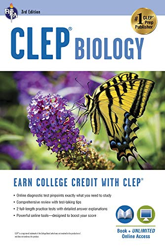 Compare Textbook Prices for CLEP® Biology Book + Online CLEP Test Preparation Third Edition, Revised Edition ISBN 9780738611020 by Callihan Ph.D., Laurie Ann