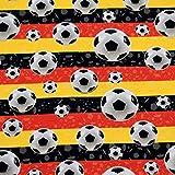 MAGAM-Stoffe Fussball Deutschland Jersey Kinder Stoff