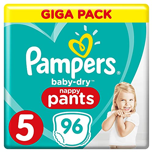 Pampers Baby-Dry Pants Größe5, 96Windeln
