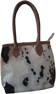 Nayra Girls and Women's Leather Tote Handbag Multicolor