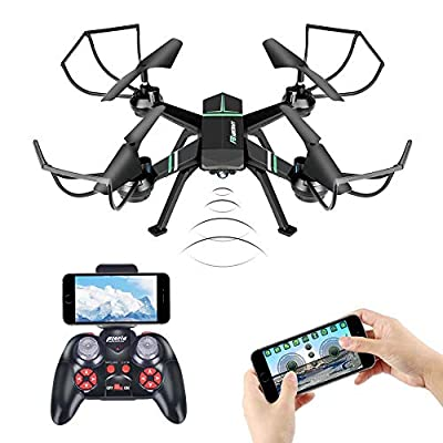 Drone with Camera for Adults, JoyGeek FPV RC Quadcopter Live Video Dron for Beginners Kids Children Gifts, Altitude Hover 3D VR Aircraft iPhone Remote Control Drome