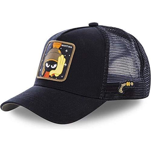 Snapback Cap Cotton Baseball Cap Men Women Hip Hop Dad Mesh Hat Trucker-MARTIAN