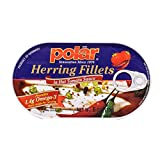 MW polar Herring in Hot Tomato Sauce, 6 Ounce (Pack of 14)