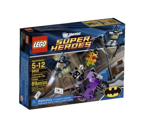 LEGO DC Comics Super Heroes Catwoman Catcycle City Chase 89pieza(s) Juego de construcción - Juegos de construcción (Multicolor, 5 año(s), 89 Pieza(s), 12 año(s))