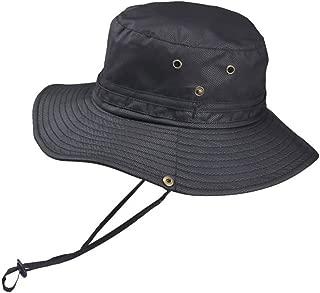Geeoce サファリハット メンズ レディース 帽子 防水 通気 速乾 軽薄 折りたたみ アウトドアハット 日除け アウトドア 釣り ハイキング 登山