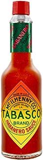Tabasco Habanero Sauce, 1x60ml, 0,06 l, scharfe Chili Sauce, 100% natürlich, Glasflasche