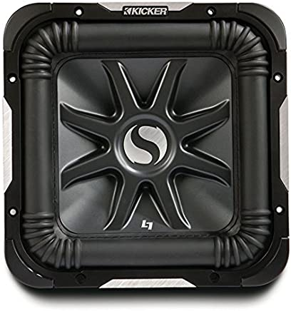 Kicker S15L7 Car Audio Solobaric L7 Square 15