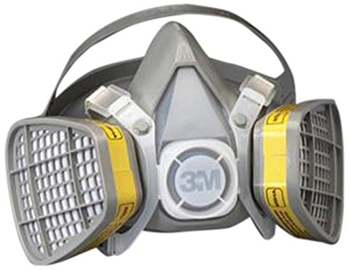 3M 3M Dual Cartridge Respirator Assembly 5000 Series, Disposable 5303