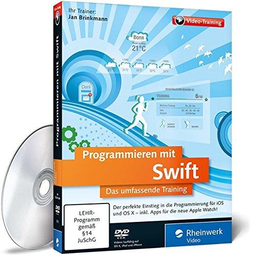 Programmieren mit Swift, DVD-ROMDas umfassende Training. Der perfekte Einstieg in die Programmierung für iOS und OS X - Inkl. Apps für die neue Apple Watch! Für Windows, Macintosh, UNIX / LINUX. 480 Min.