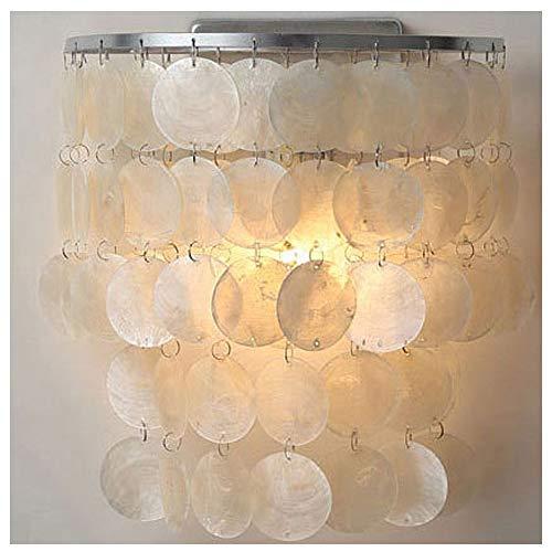 Luces De Shell Lámpara Colgante Lámpara De Shell Hecha De