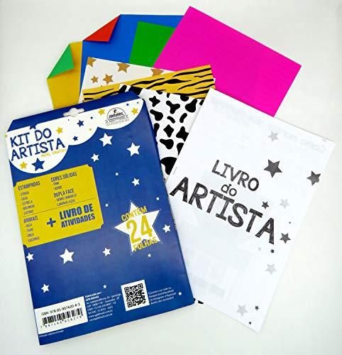 Bloco para Educacao Artistica KIT do Artista 24FLS + Livro de atividades, Romitec
