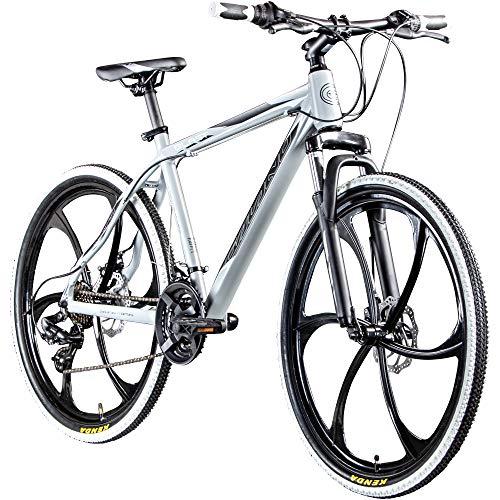 """Galano Blast 26 Zoll MTB Hardtail Mountainbike Fahrrad 26"""" Rad 21 Gang Bike (grau, 46 cm)"""