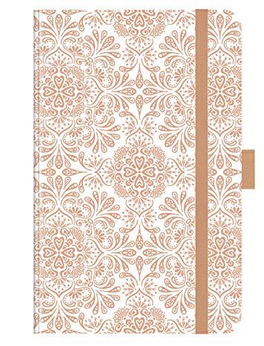 Buchkalender Times Small12 Trend Ornaments 2021: Terminplaner mit hochwertiger Folienveredelung für echten Glanz. 9 x 14 cm