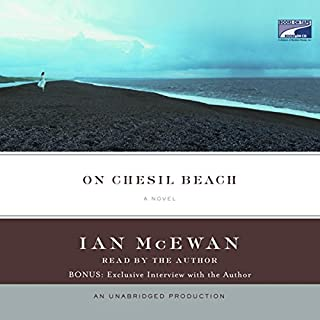 On Chesil Beach audiobook cover art