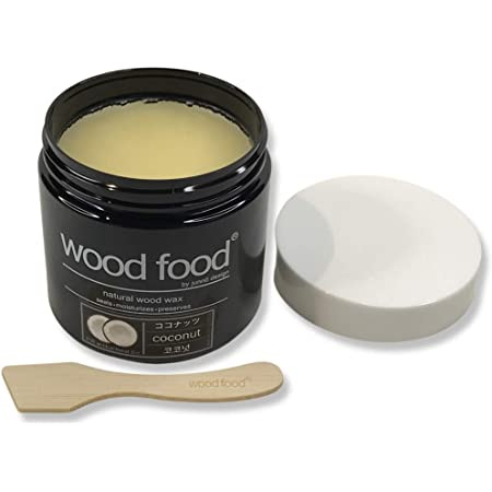 """Wood Food"" 天然艶出し蜜蝋ワックス (有機ココナッツ, 180ml)"