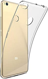 Silicone Back Case Cover By Ineix For Xiaomi Mi Max 2 - Clear