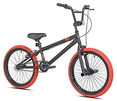 """20"""" Dread Boy's BMX Bike, Black/Red"""