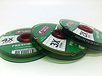 Scientific Anglers Freshwater Nylon Fly Fishing Tippet - 3 Pack