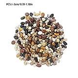 gaeruite 1-6CM 500g Piccoli ciottoli per Esterni Decorativi da Giardino, Pietre Colorate...