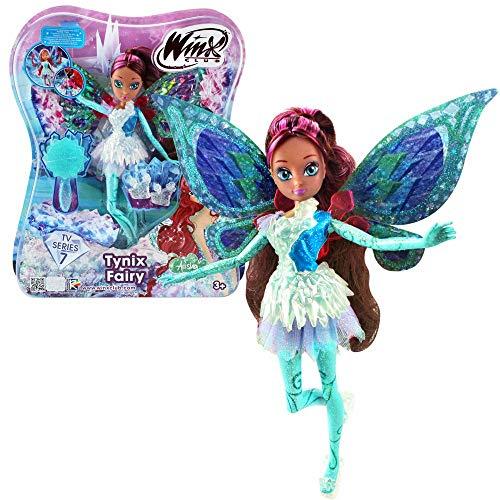 Winx Club Layla | Tynix Fairy Muñeca Magia Robe | Temporada 7 | 28 cm