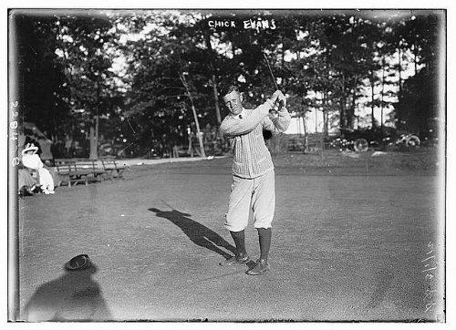 HistoricalFindings Photo: Chick Evans,Charles E Evans,1890-1979,Amatuer Golfer,Won US Amateur in 1920