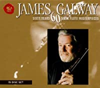 60 Years 60 Flute Masterpieces by James Galway (1999-07-28)