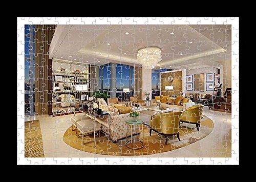 Puzzle Style (preensamblado) Impresión de la pared de Mondrian Hotel by Lisa Loft