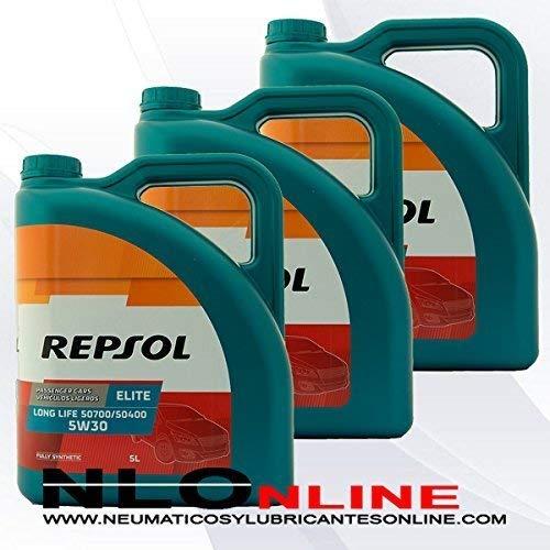 Repsol Aceite Motor Elite TDI 50501 5W-40 5 litros (15 litros)